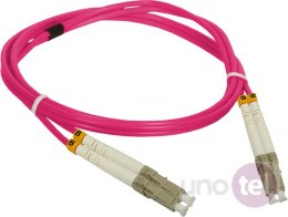 Patch cord MM OM4 LC-LC duplex 50/125 5.0m