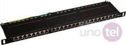 "Patch panel OPTIMUM STP kat.6 24 porty 0.5U 19"" ALANTEC"