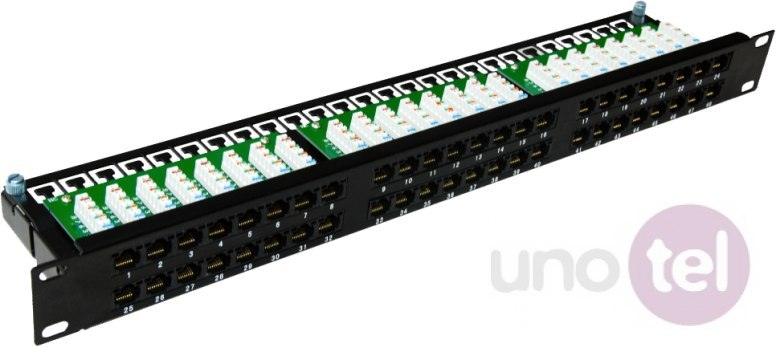 "Patch panel OPTIMUM UTP kat.6 48 portów LSA 1U 19"" ALANTEC PK030"