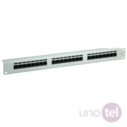 "Patch Panel 19"" Kat.6 24xRJ45 UTP szary VALUE"