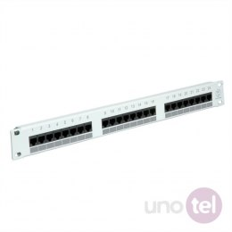 "Patch Panel 19"" UTP Kat. 5e 24xRJ45 szary VALUE"