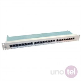 Patch Panel Kat.6 24 porty STP szary VALUE