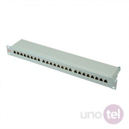 Patch panel STP Kat.6 24xRJ45 szary ROLINE
